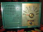 Vintage Motorola Model 54X Twin Speakers Tube Radio ~ Retro Green !!!