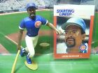 1988  LEON DURHAM - Starting Lineup - SLU - Loose With Card - Chicago Cubs