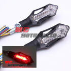 2013 Sword LED Turn Signals Light with Red Brake Light E-Marked Universal Fit