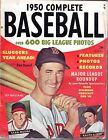 1950 Complete Baseball magazine Ted Williams, Boston Red Sox, Stan Musial Fair