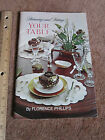 Vintage 1960's Decorating Home Planning & Setting Your Table Doubleday Etiquette