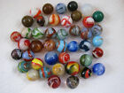 Vintage Marbles, Akro Agate, Peltier. Christiansen, Alley Agate, Master Marble