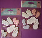NEW BABY STEPS or BABYS 1ST STEPS Shoes Foot  Your Choice  JOLEES Stickers