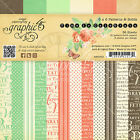 Graphic45 TIME TO CELEBRATE 6x6 PAPER PAD scrapbooking Patterns