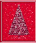 Quilting Treasures Celebrate The Season Quilt Fabric Panel Christmas Tree Red