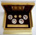 2008 China Beijing Olympics 6 Coin Proof Set. Gold & Silver Coin Set - Series I