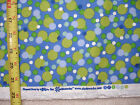 1 YARD FLANNEL DOTS SUE ZIPKIN CLOTHWORKS BLUE WITH DOTS COTTON FABRIC BTY YD