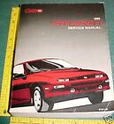 1993 CHEVY GEO STORM FACTORY PRINT SERVICE MANUAL
