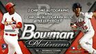2014 BOWMAN PLATINUM BASEBALL HOBBY 12 BOX CASE