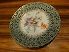 Outstanding marked antique Dresden porcelain plate ca. 1900 7