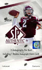 2014 Upper Deck SP Authentic Football Hobby Box