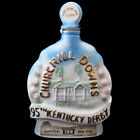 JIM BEAM KENTUCKY DERBY EMPTY WHISKEY DECANTER BOTTLE COLLECTIBLE 1969