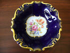 Echt Kobalt JLMENAU Cobalt Blue Gold Floral Design Germany Bowl Numbered