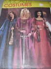 McCALL'S #3663- LADIES MEDIEVAL-RENAISSANCE GOWN & CAPE or CLOAK PATTERN 14-20uc