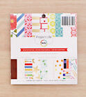 Becky Higgins Project Life DESKTOP EDITION 6x6 Paper Pad 36 Papers 18 Designs