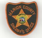 Marion County Sheriff's Department shoulder patch, Florida, FL Police