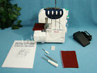 NEW QUALITY BUILT 2-NEEDLE, 4-OR 3-THREAD Serger Overlocker Sewing Machine  NICE