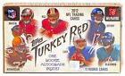 2012 TURKEY RED FOOTBALL FACTORY SEALED BOX RC AUTO LUCK RUSSEL WILSON