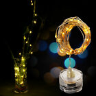 15pcs LED Submersible Waterproof Fairy Light Copper Wire String Lights Base Lamp