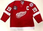 STEVE YZERMAN 1998 STANLEY CUP DETROIT RED WINGS NIKE AUTHENTIC JERSEY SIZE 52