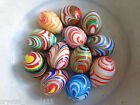 COLLECTION 12  ANTIQUE VINTAGE  VENETIAN  MURANO  ART   GLASS  EASTER EGGS