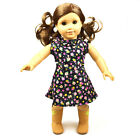 Hot Stock Doll Clothes fits 18 American Girl Handmade Party Dress MG 058 Black
