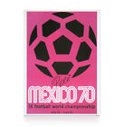 1970 Mexico World Cup Poster Signed by the great Pele! Bid now from £80