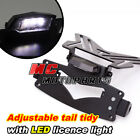 Tail Tidy Plate Hanger Bracket include Licence Light Fit Universal