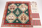 Love One Another Christmas Cotton Panel Sewing Project Wall Hanging Country Look