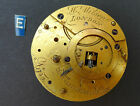 Antique Fusee Verge Pocket Watch Movement H. WILSON, LONDON