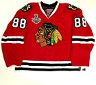 PATRICK KANE CHICAGO BLACKHAWKS 2015 CUP REEBOK 7287A EDGE AUTHENTIC JERSEY