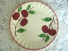 Vintage BLUE RIDGE SOUTHERN POTTERIES Crab Apple Hand Painted Plate- Made in USA