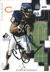 1999 (BEARS) SP Signature Autographs #CW Curtis Conway