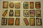 Wacky Packages 6th Series Complete Set with Puzzle 1974