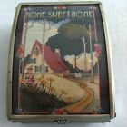 Home Sweet Home Mary Engelbreit Enesco Box Glass Mirror Box Made in Mexico 4.25