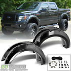 [4PC SET] 2009-2014 Ford F150 Bolt On Rivet Style Wheel Fender Flares Left+Right