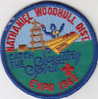N-10573 1983 NATHANIEL WOODHULL DIST  CATCH THE SCOUTING SPIRIT POCKET PATCH