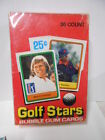 Golf Stars cards Donruss rare full 36 sealed pack box 1981
