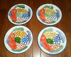 (4) Tabletops Unlimited PESCADA Hand Painted 8