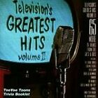 1 CENT CD Television's Greatest Hits Vol. 2   TV Themes/Soundtracks/TVT/II