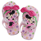 Disney Store Minnie Mouse Clubhouse Flip Flops Sandals for Girls Pink