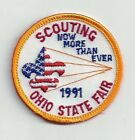 1991 BOY SCOUT OHIO STATE FAIR PATCH