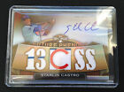 # 75 Starlin Castro 2011 Topps Triple Threads AUTO Relic RC #114 Cubs