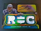 #41 50 Stevan Ridley 2011 Triple Threads Jersey Emerald Auto Relic RC #129