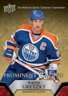 Wayne Gretzky 2014 15 2015 Upper Deck UD national convention VIP prominent cuts
