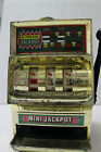 Vintage 1950's Japan Waco Tin Toy Mini Jackpot In Good Working Condition