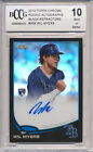 2013 Topps Chrome Black Ref Auto Wil Myers RC Rookie BGS BCCG 10 #'d 036 100