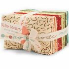 VERY MERRY 38 Fat Eighth Bundle by Sandy Gervais for Moda Fabrics