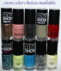 Maybelline COLOR SHOW Nail Polish 23 oz Offered by Cozee Clothingmany colors
