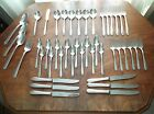 44 pc set service for 6 Heirloom Plate Silver Plate